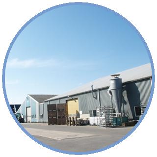 locatie bedrijf Wagenaar Aardappelverwerking bv in Dirkshorn
